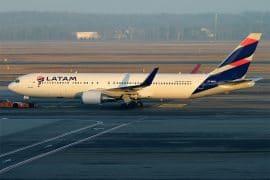 Boeing 767 Latam Brasil