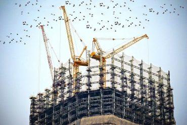 Edifici en obres