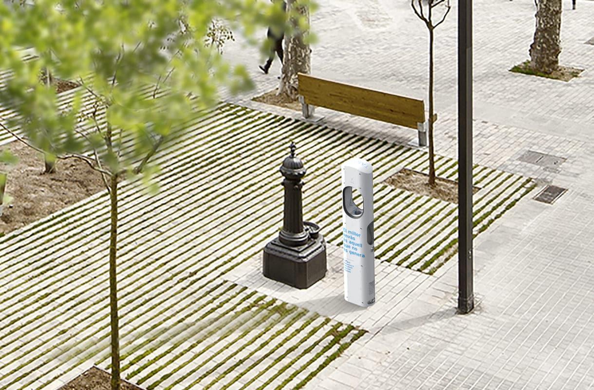 fuente urbana Taiga y fuente tradicional