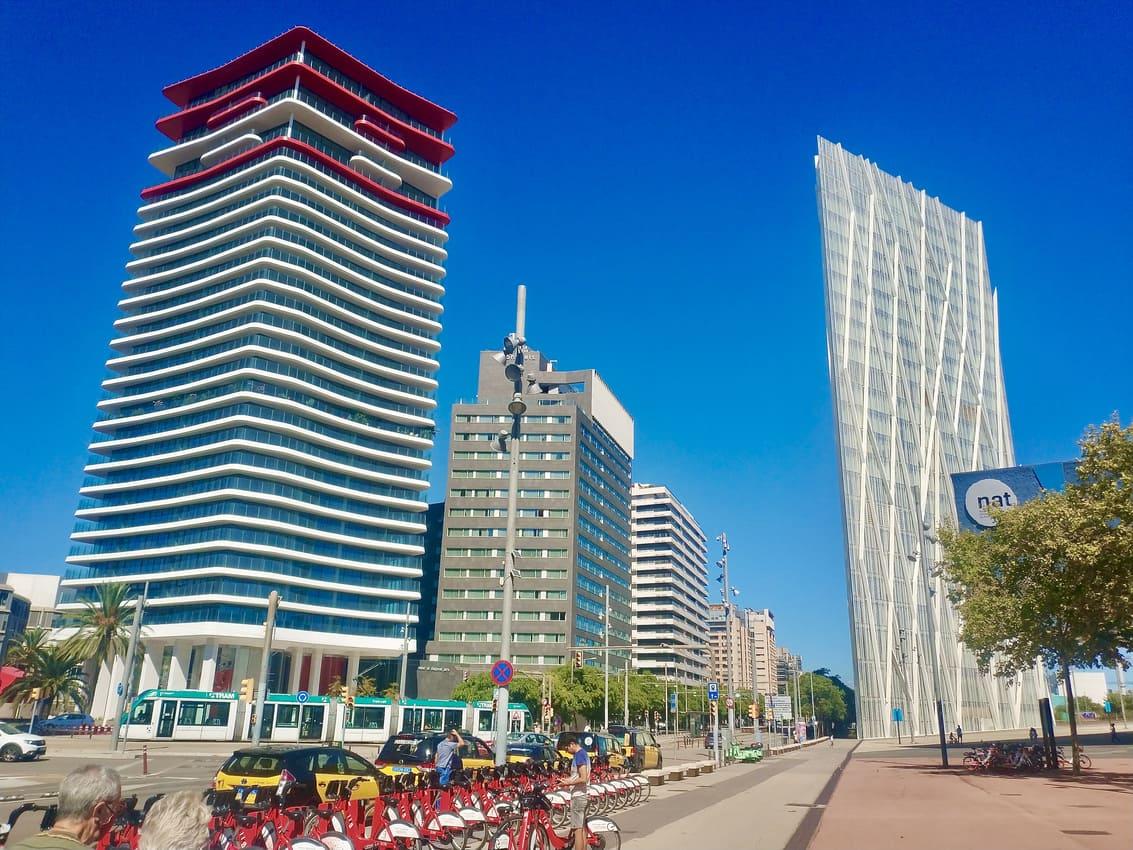 Torre Antares y Torre Diagonal One Barcelona