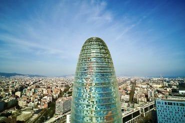 La cúpula de la Torre Glòries será visitable el próximo año.