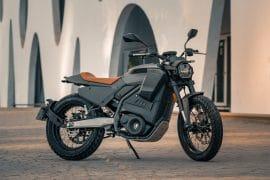 motocicleta eléctrica E-Track de la marca Pursang.
