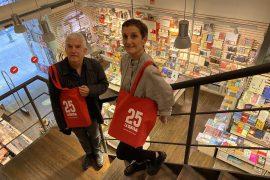 Antonio Ramírez i Marta Ramoneda, els fundadors de la llibreria La Central.
