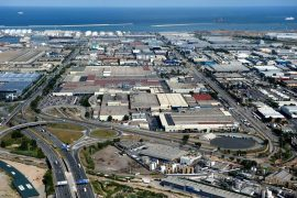 Planta Nissan Zona Franca
