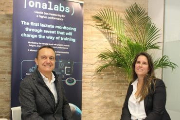 Josep Cardona y Elisabeth del Valle, directivos de Onalabs.